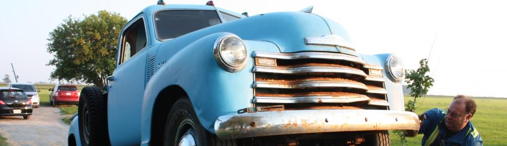 Mark's 1949 Chevy Truck Restoration
